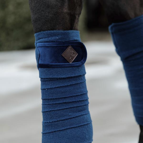 Kentucky Horsewear Velvet  flīsa bintes
