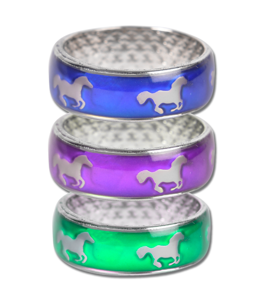 Garastāvokļa gredzens – lēkšojoši zirgi