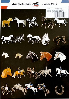 Zirgu tematikas piespraude