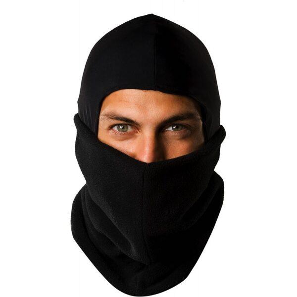 "EQUITHÈME maska jāšanai ""Nylon/polar"" balaclava"